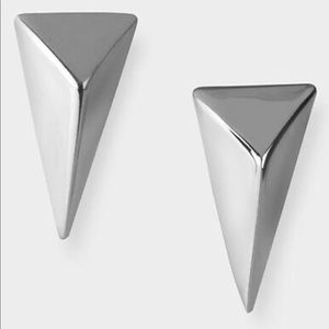 Alexis Bittar Pyramid Post Earrings